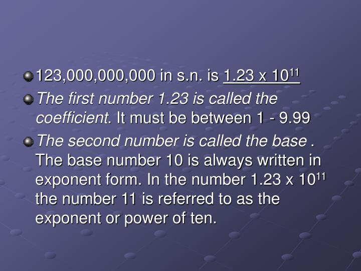 123,000,000,000 in s.n. is