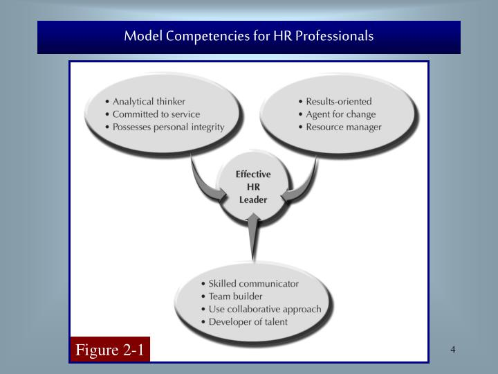 Model Competencies for HR Professionals