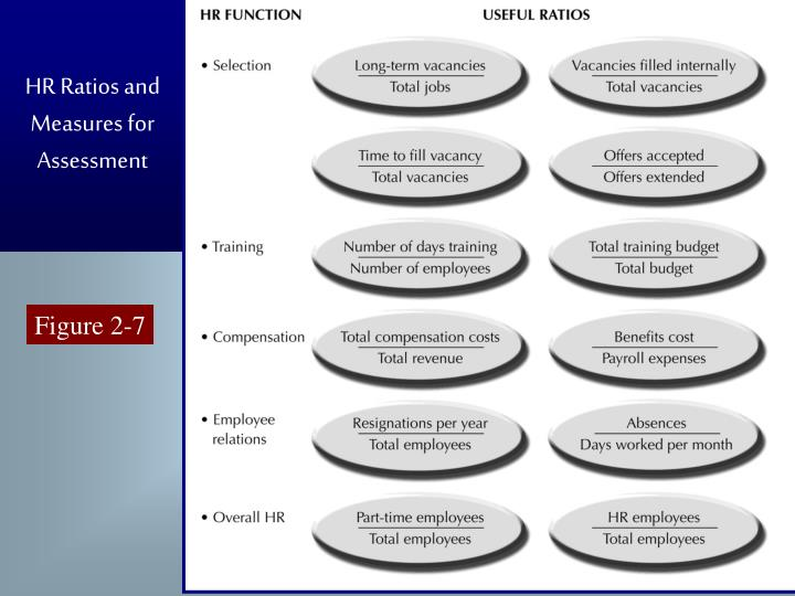 HR Ratios and Measures for Assessment