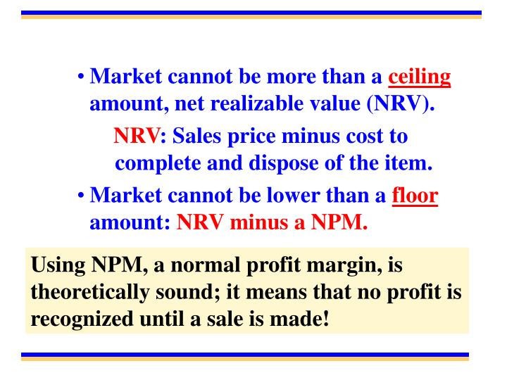 Market cannot be more than a
