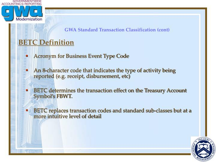 BETC Definition