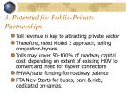 3 potential for public private partnerships