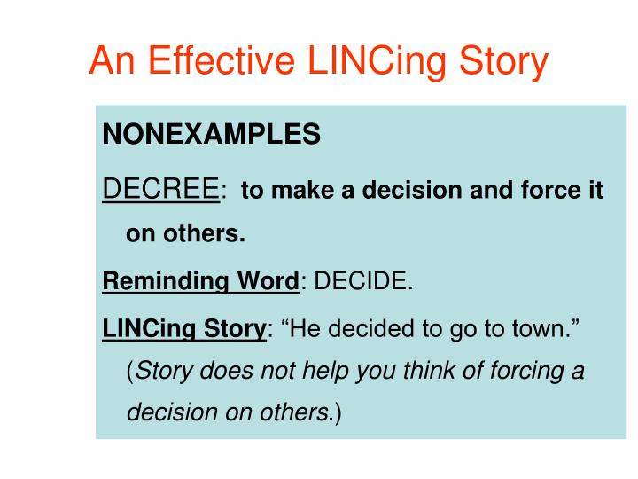 An Effective LINCing Story