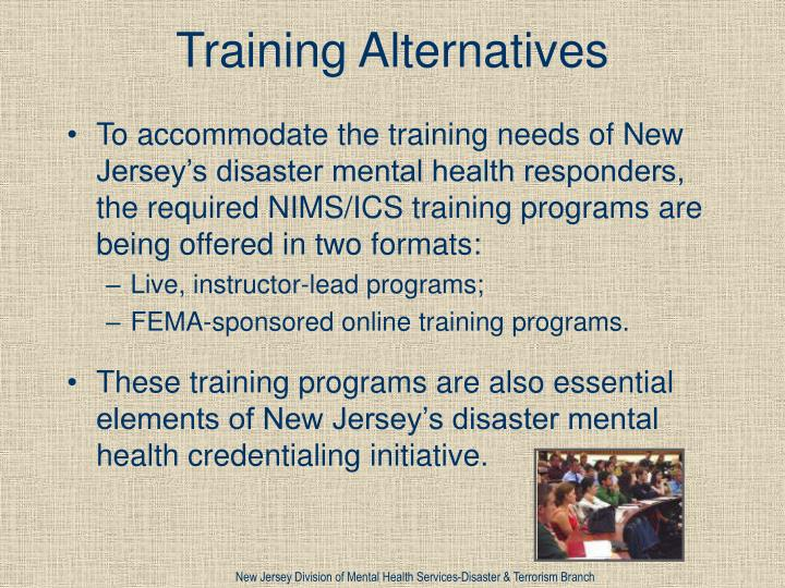 Training Alternatives
