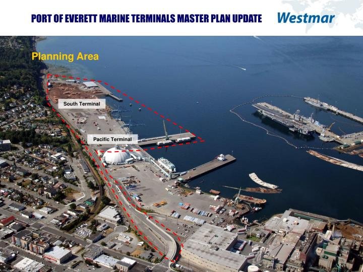 PORT OF EVERETT MARINE TERMINALS MASTER PLAN UPDATE