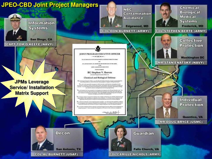JPEO-CBD Joint Project Managers