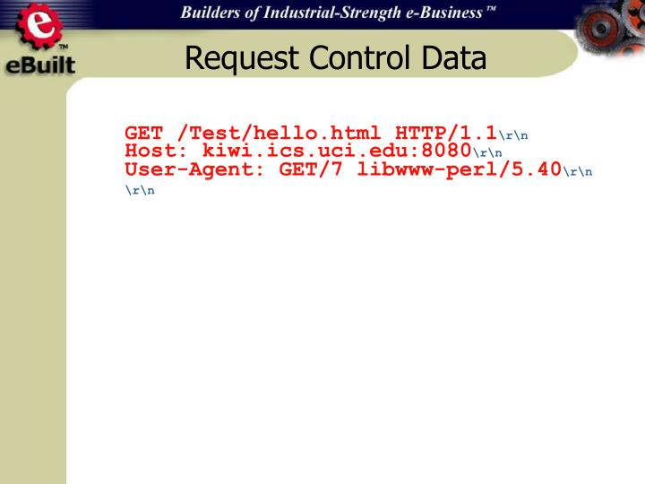 Request Control Data