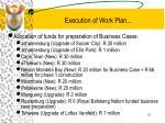 execution of work plan2