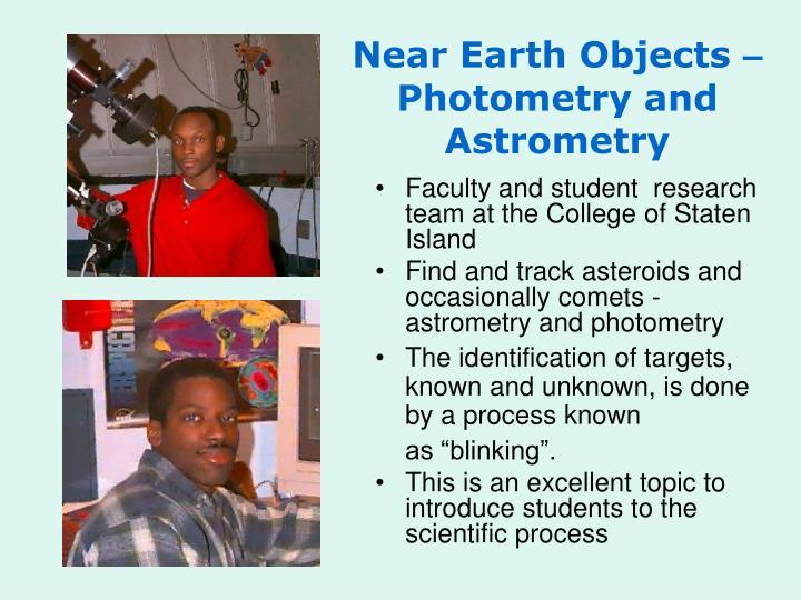 Near Earth Objects