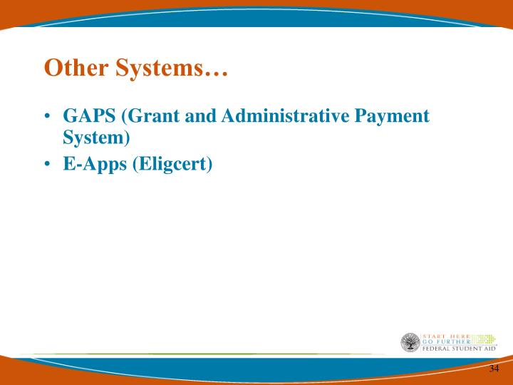 Other Systems…