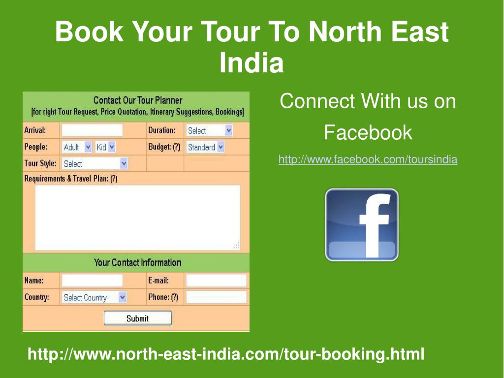 Book Your Tour To North East India