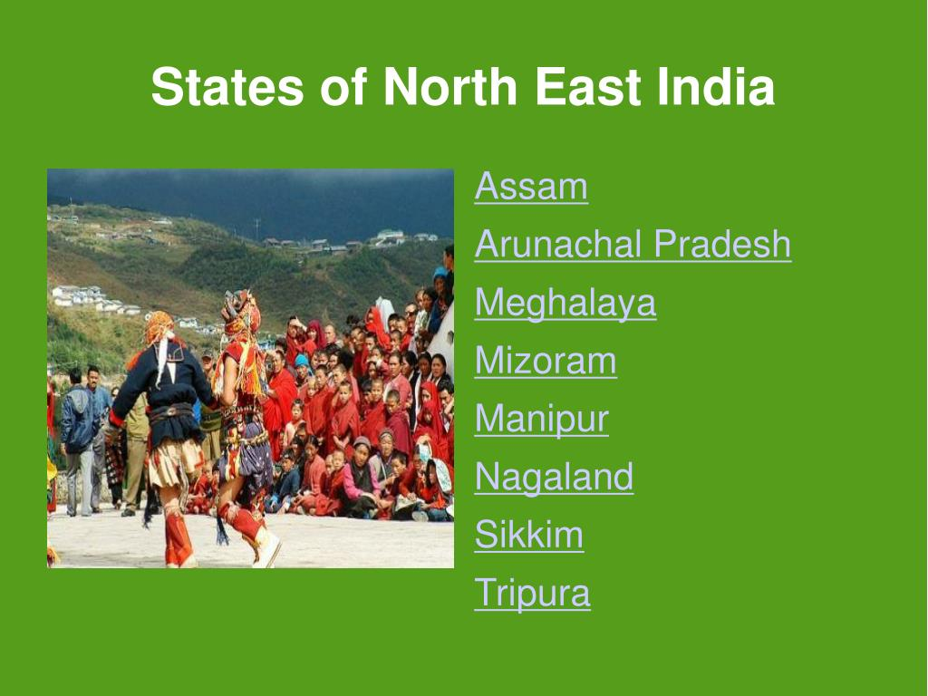 States of North East India