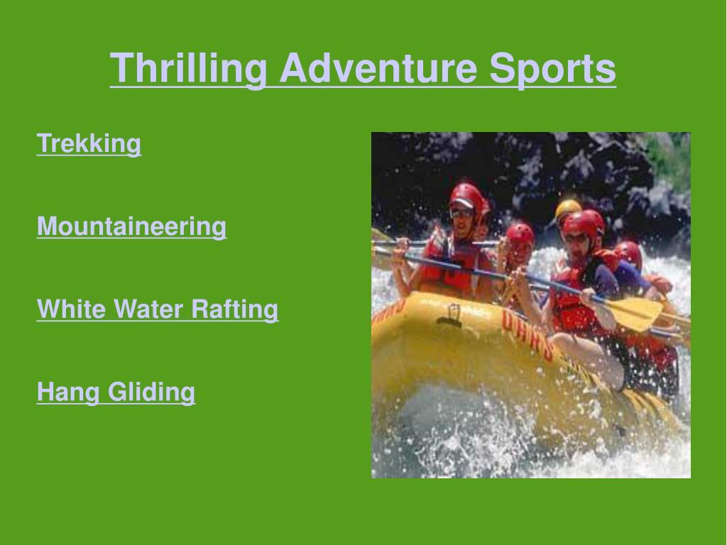 Thrilling Adventure Sports