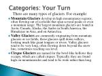 categories your turn
