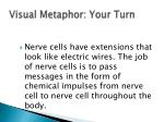 visual metaphor your turn