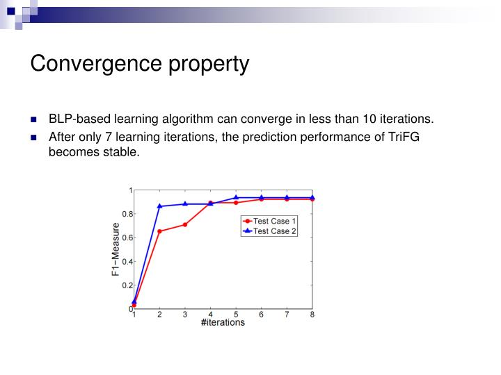 Convergence property
