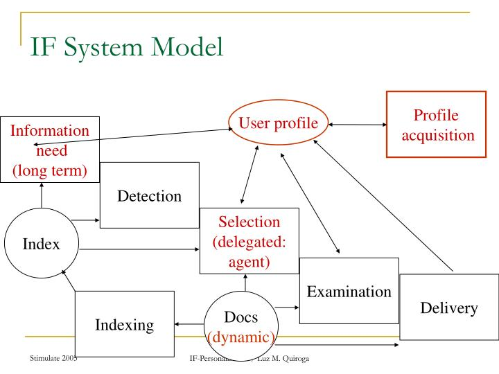 IF System Model