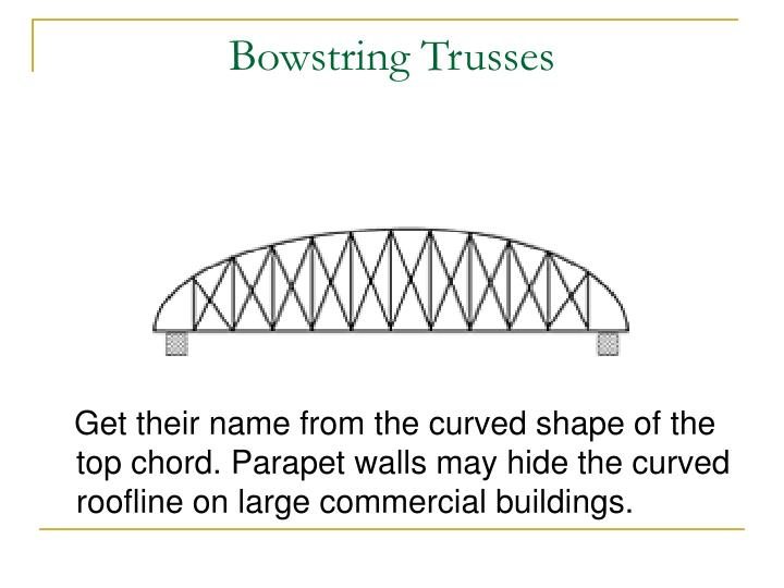 Bowstring Trusses