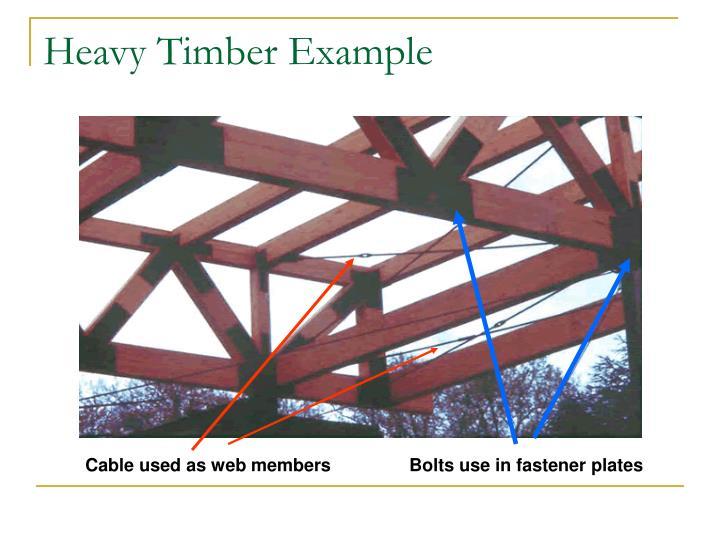 Heavy Timber Example