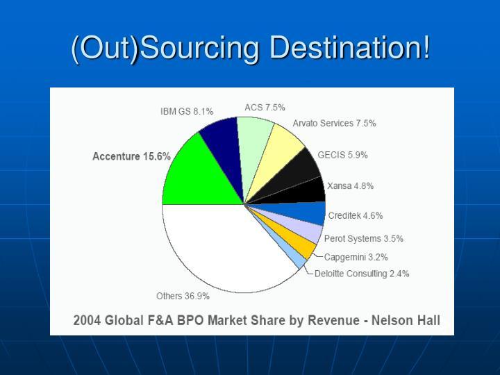 (Out)Sourcing Destination!