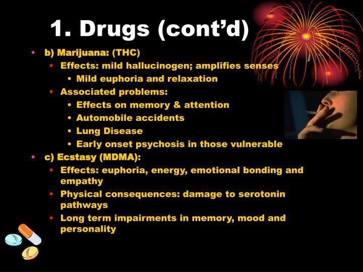 1. Drugs (cont'd)