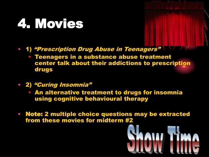 4. Movies
