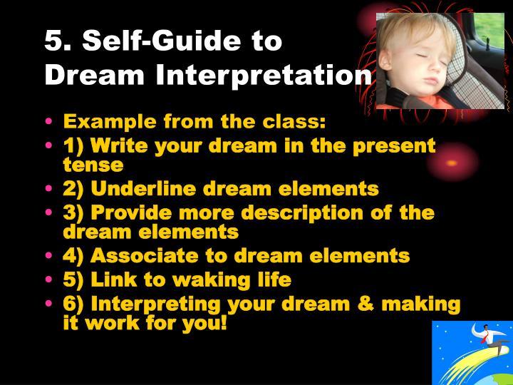 5. Self-Guide to Dream Interpretation