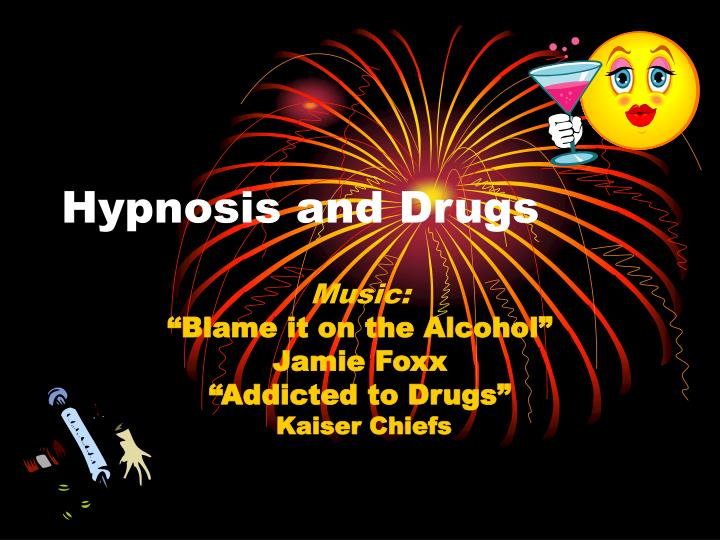 hypnosis and drugs