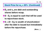 stock price for w d 20 continued1