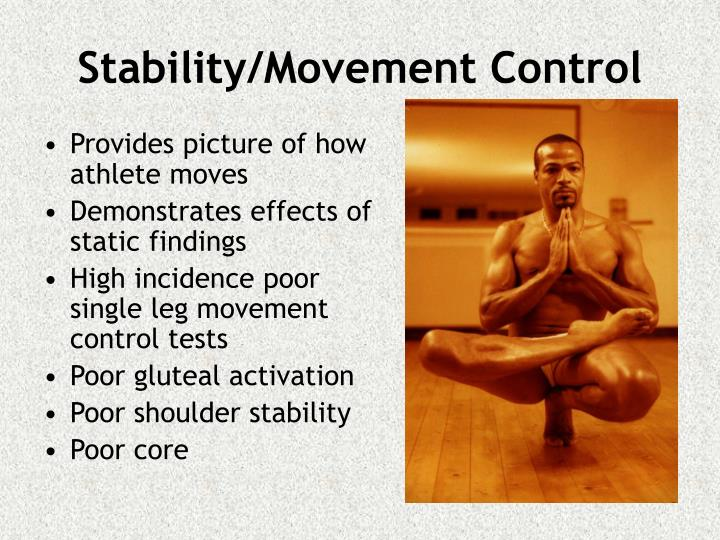 Provides picture of how athlete moves