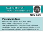 race to the top finalist presentation