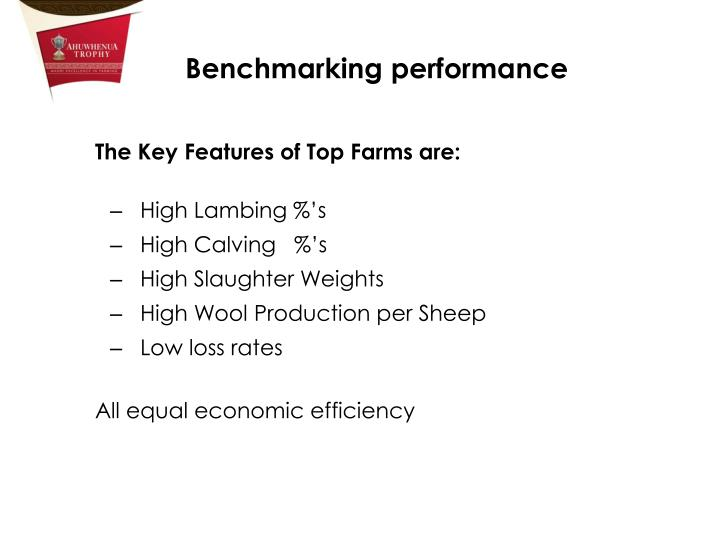 The Key Features of Top Farms are: