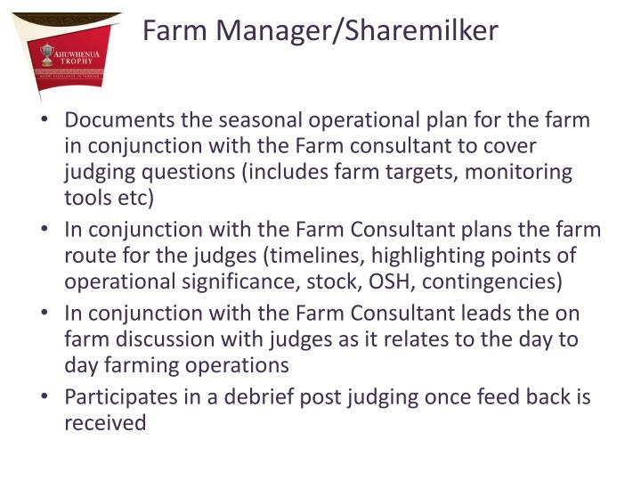 Farm Manager/