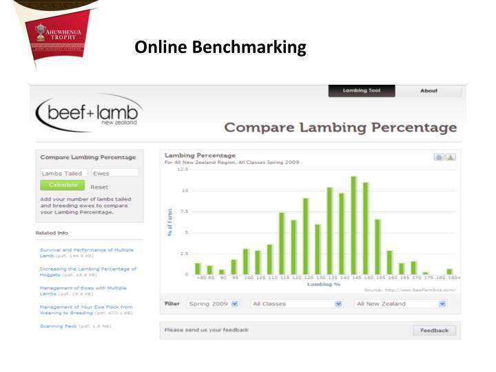Online Benchmarking