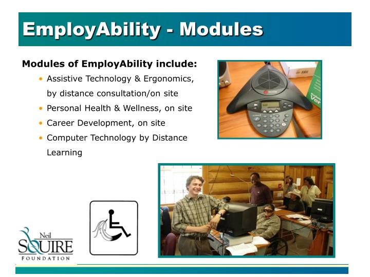 EmployAbility - Modules
