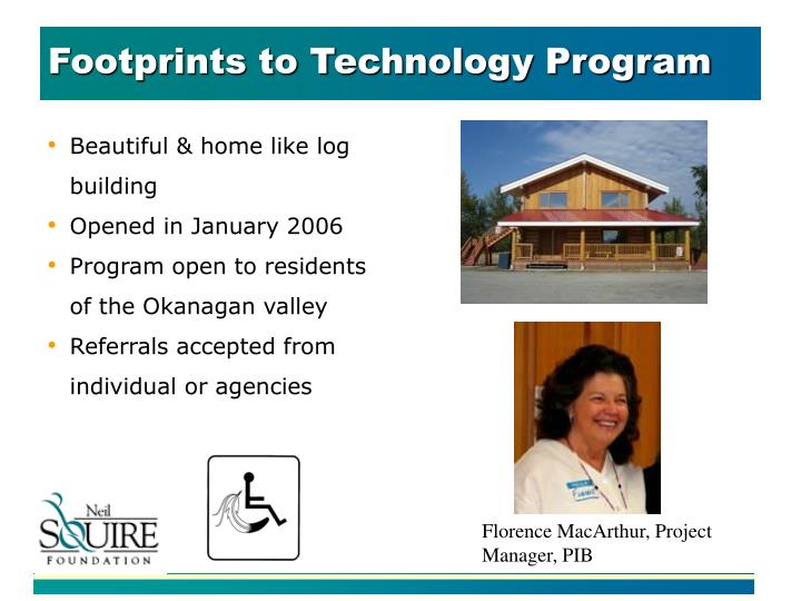 Footprints to Technology Program