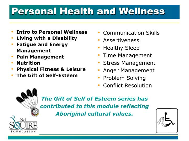 Personal Health and Wellness