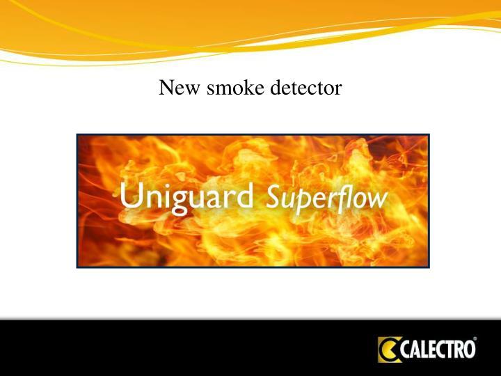 New smoke detector
