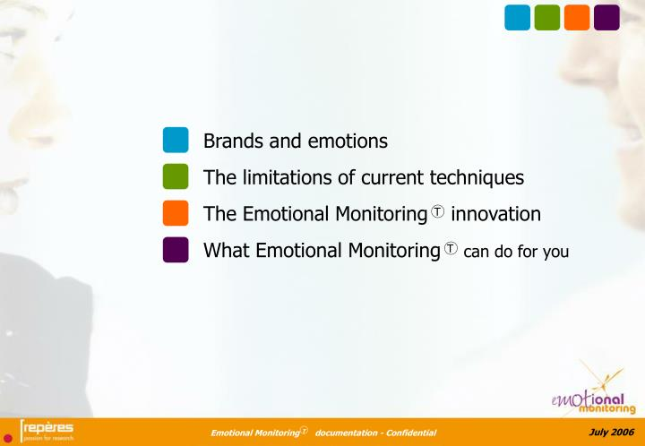 Brands and emotions