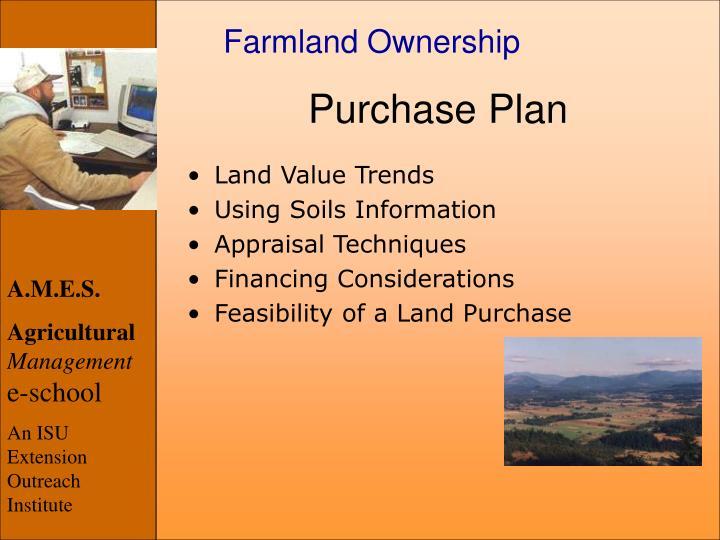 Farmland Ownership