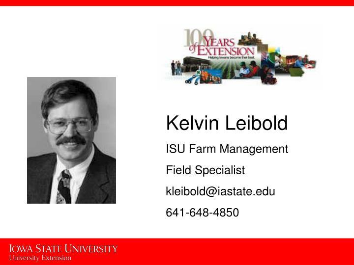 Kelvin Leibold