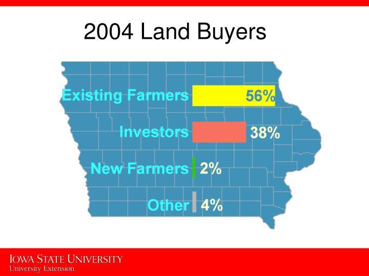 2004 Land Buyers