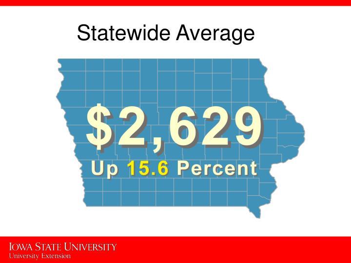 Statewide Average
