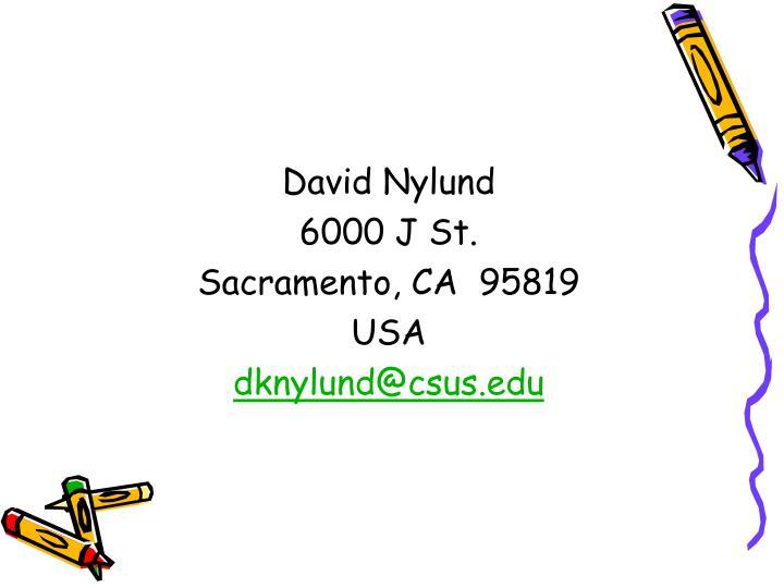 David Nylund