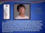 jane slach professor dental assisting health sciences 18 years of service