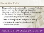 use active voice1