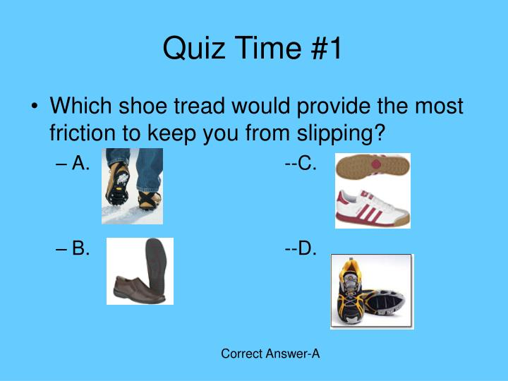 Quiz Time #1