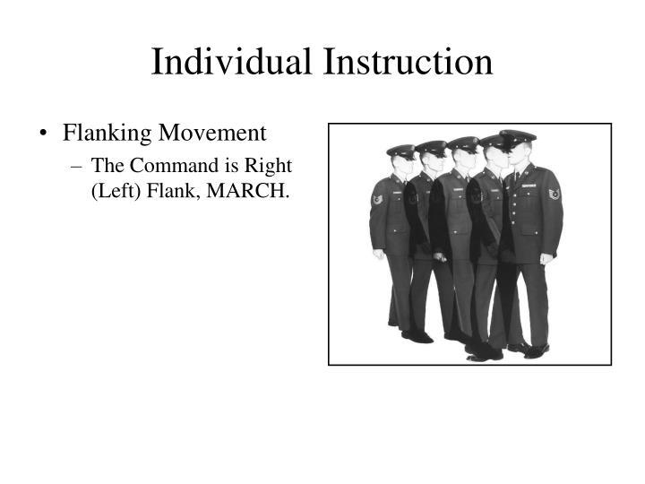 Individual Instruction