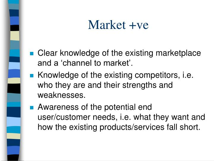 Market +ve