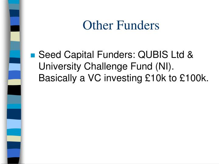 Other Funders